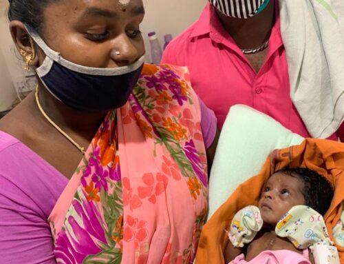 Aishwarya Trust steps in to help save a newborn