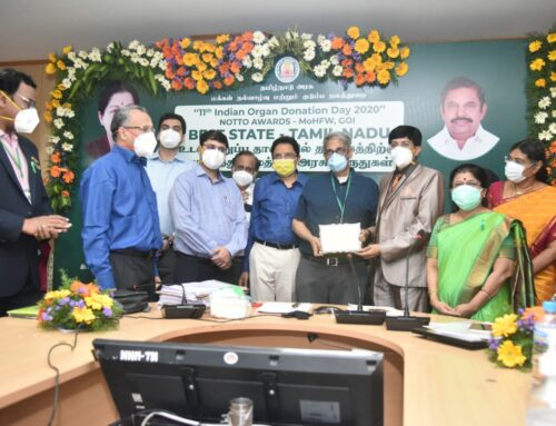 MGM Healthcare's Heart & Lung Transplant Team Led By Dr. K R Balakrishnan  Wins Best Performance Award