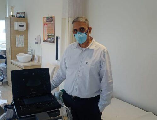 New Echo Cardiogram Machine Donated
