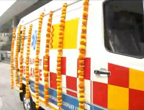 Aishwarya Trust nominates MGM Healthcare to receive new ambulance